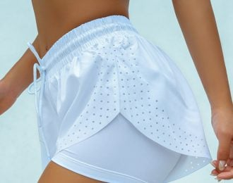 Lasercut Women's Running Shorts