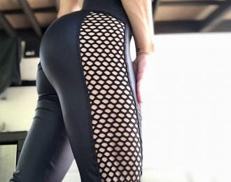 Sexy Mesh Sport Leggings