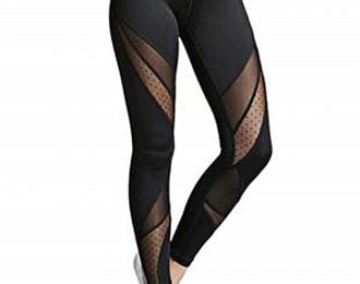 Women's Dot Mesh Workout Leggings