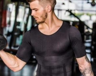 Compression Body Building Shirt for Men