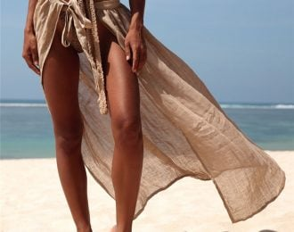 Sarong Tied Floor Length cover up