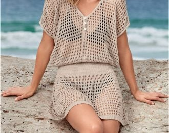 Smock Waist Cover Up