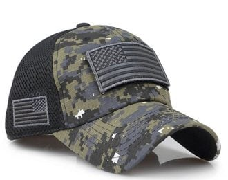 Men's Military Style Camouflage Cap