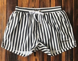 Striped Surfing Shorts