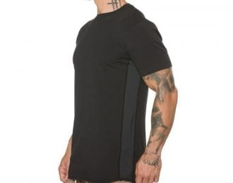Side Panel Contrast T-Shirt