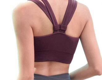Wire Free Push Up Fitness Bra