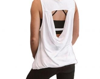 Cut Out Tank Top